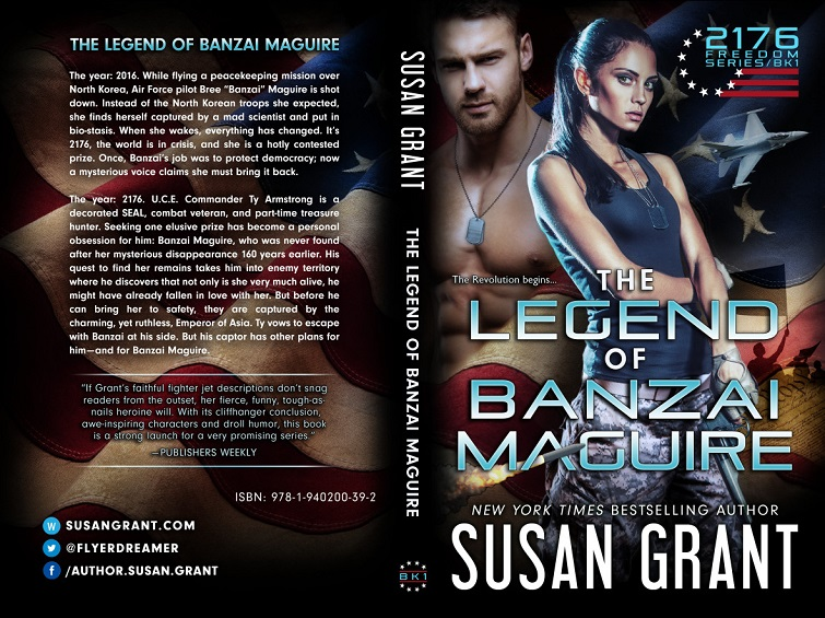 The Legend of Banzai Maguire Print Cover by Susan Grant