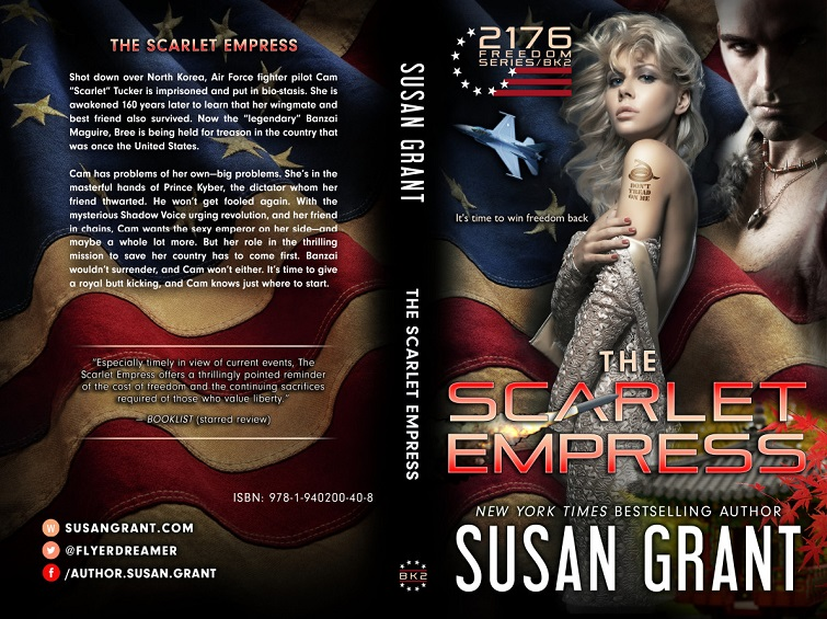 The Scarlet Empress Print Cover by Susan Grant