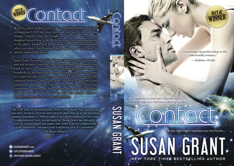 Contact Print Cover by Susan Grant