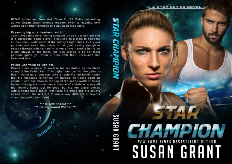 Star Champion Print Cover by Susan Grant