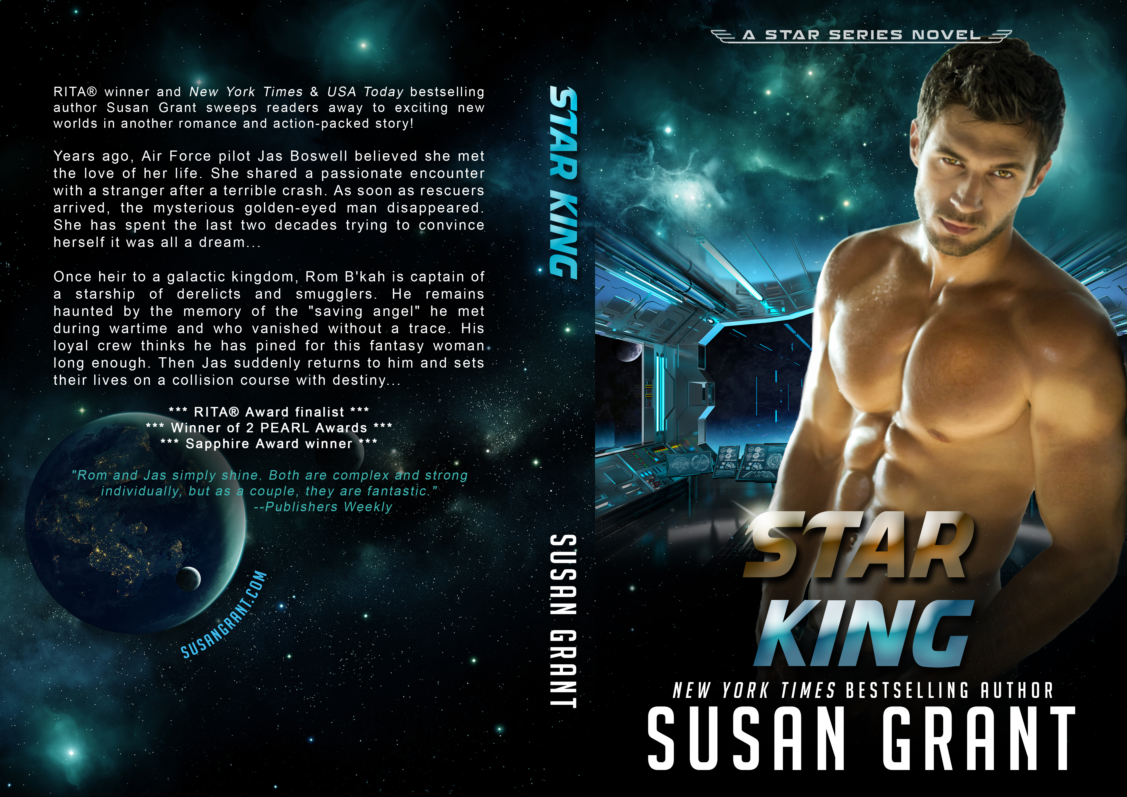Star King Print Cover by Susan Grant