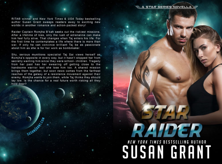 Star Raider Print Cover by Susan Grant