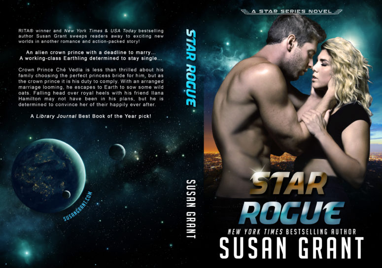 Star Rogue Print Cover by Susan Grant