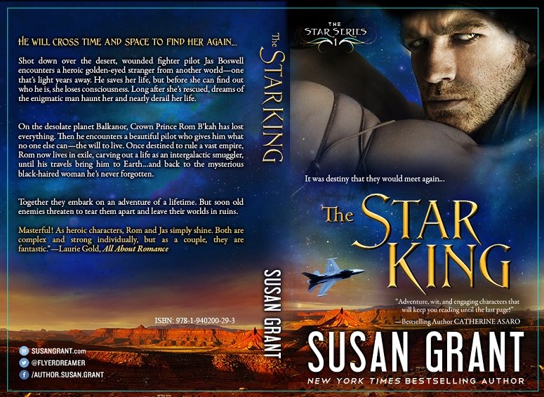 The Star King Print Cover by Susan Grant