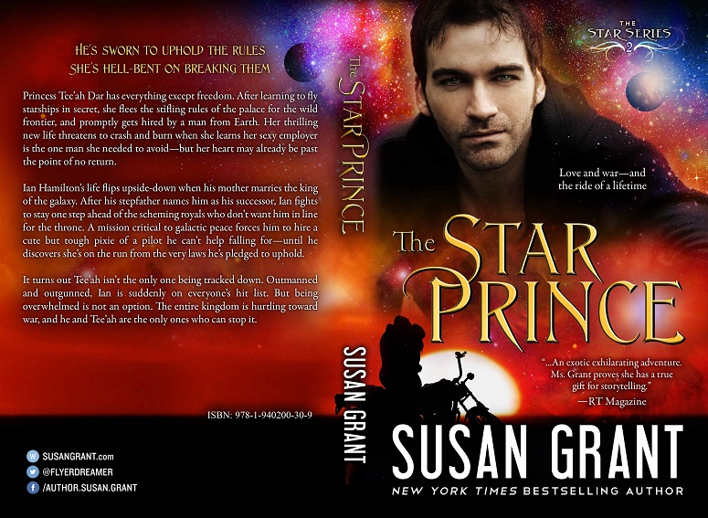 The Star Prince Print Cover by Susan Grant