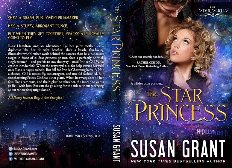 The Star Princess Print Cover by Susan Grant
