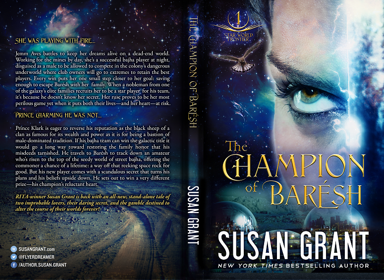 The Champion of Barésh Print Cover by Susan Grant