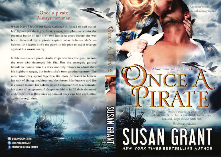 Once A Pirate Print Cover by Susan Grant
