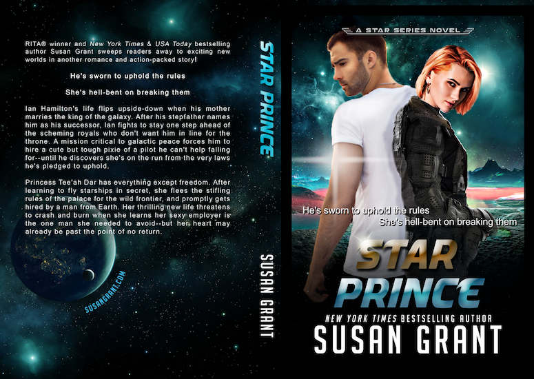 Star Prince Print Cover by Susan Grant